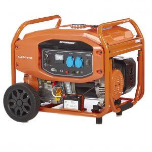 generador eléctrico gc7000 e alquiler de maquinaria menorca