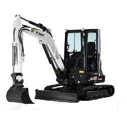 excavadora bobcat e35z alquiler de maquinaria menorca