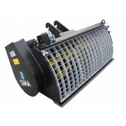 implemento hormigonera para minicargadora alquiler de maquinaria menorca