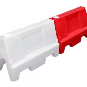 barreras new jersey de plástico alquiler de maquinaria menorca
